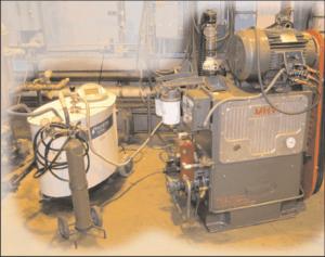 Burn-in test on MHV pump